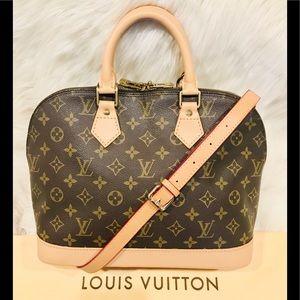 Authentic Louis Vuitton Alma PM #2.2b